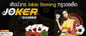 เสือมังกร Joker Gaming ทรูวอลเล็ต